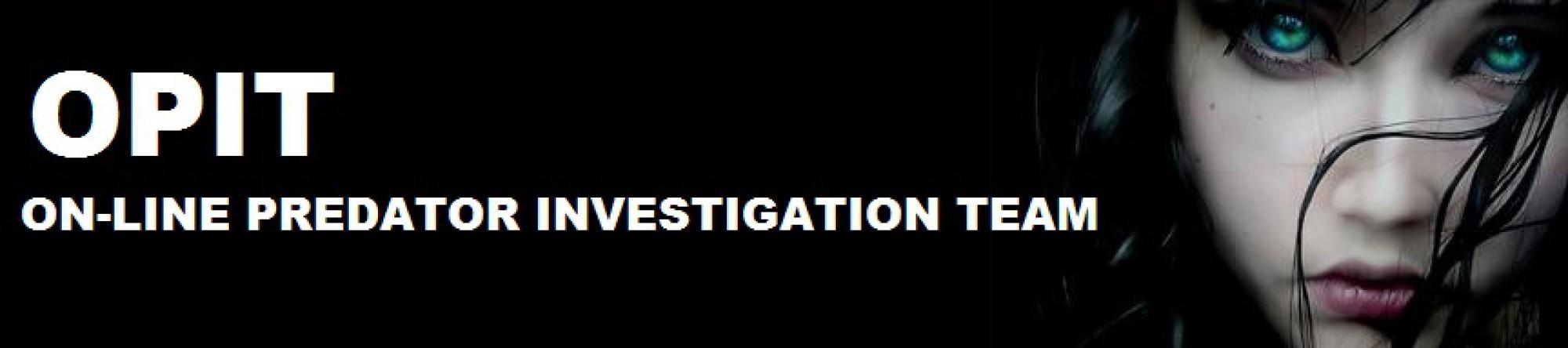 On-Line Predator Investigation Team catching groomers on Facebook.